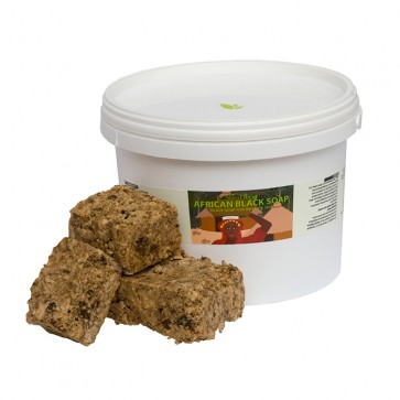 African Black Soap, RAW SOLID, 1kg
