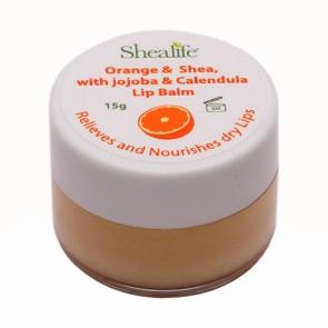 Orange &  Shea, with jojoba & Calendula